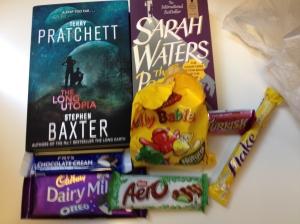 Books and British candy