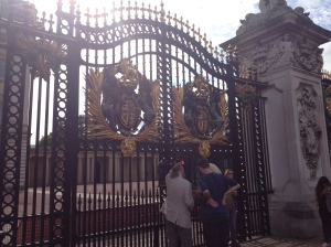 Gates, Buckingham Palace